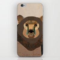 Bear Collage iPhone & iPod Skin