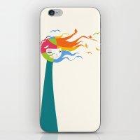 Birds Color iPhone & iPod Skin