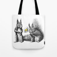 Squirrels - Love Gift G1… Tote Bag