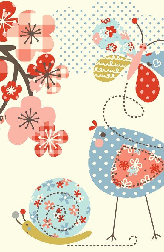 Spring Birdie Art Print