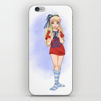 Alice's Day Off iPhone & iPod Skin