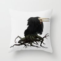 Twitchy Vukka Throw Pillow