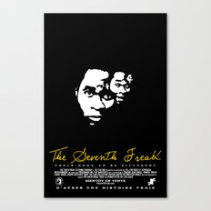 Freaky Faces Canvas Print