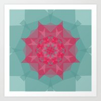 kaleidoscoping  Art Print