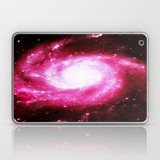Galaxy Hot Pink Spiral Laptop & iPad Skin