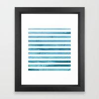 Water. Framed Art Print