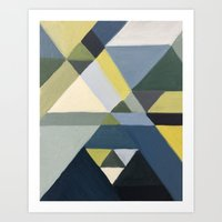 Angular Study Art Print