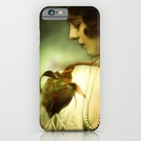 iPhone & iPod Case featuring A Rose in Winter by Rebecca A Sherman