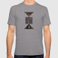 ROOK Mens Fitted Tee Athletic Grey SMALL