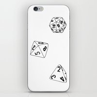 Dungeons And Dragons Dic… iPhone & iPod Skin