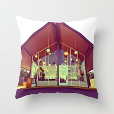 House of Donuts Throw Pillow