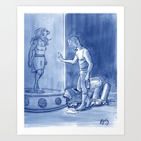 Victor And Nora, Mr. Fre… Art Print