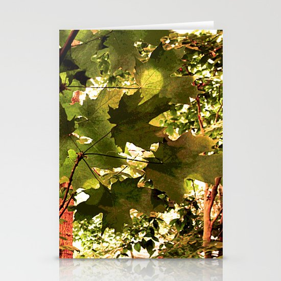 Maple Stationery Card