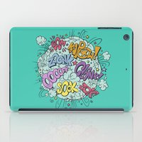 comic brawl iPad Case