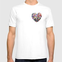 XOX Mens Fitted Tee White SMALL