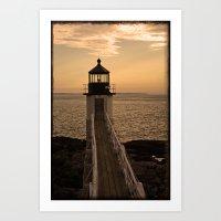 Lighthouse- 2 Art Print