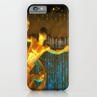 iPhone & iPod Case featuring RockCenter Ambient Blue by Mark Giarrusso