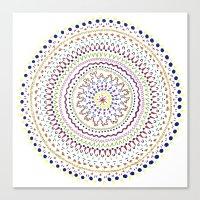 Mandala Smile A Canvas Print