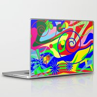 graffiti Laptop & iPad Skins featuring Graffiti by DesignsByMarly