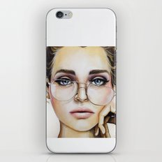 Face For NYC iPhone & iPod Skin