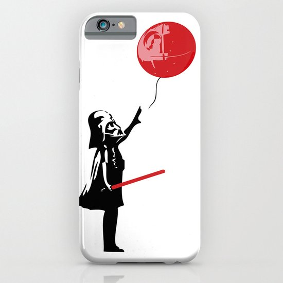 That's No Banksy Balloon (It's a Space Station) iPhone & iPod Case