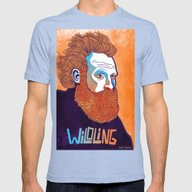 GOT Character Portraits … Mens Fitted Tee Tri-Blue SMALL