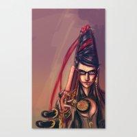 Bayonetta Canvas Print