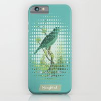 iPhone & iPod Case featuring Songbird {Jade} by mel @ my postcard heaven
