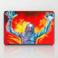 Creature From The Black Lagoon  iPad Case