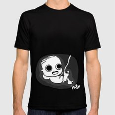 I See You! SMALL Black Mens Fitted Tee