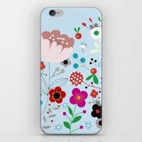 Flowers_5 iPhone & iPod Skin