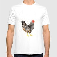 Hen Do Mens Fitted Tee White SMALL