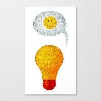Happy Ideas!  Canvas Print