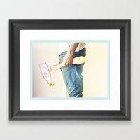 Creative weapon #1 Framed Art Print