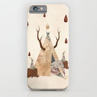iPhone & iPod Case featuring Take Shelter by Liam Smith