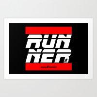 Blade.RunnerDMC Art Print