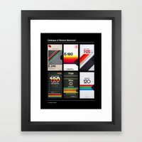 Random Memories Framed Art Print