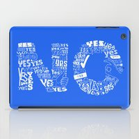 Mixed Messages iPad Case