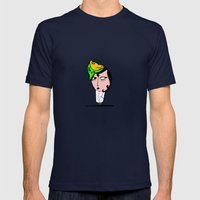Inspecteur Mens Fitted Tee Navy SMALL