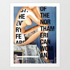 The North American Woman Art Print
