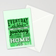 Everyday is a Journey Stationery Cards