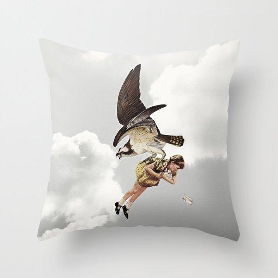 third beat II Throw Pillow
