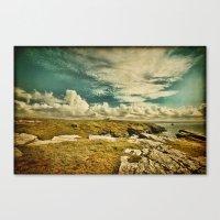 The Land of King Arthur Canvas Print