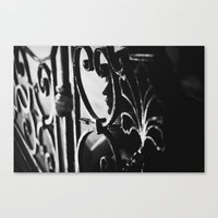 Watching Canvas Print