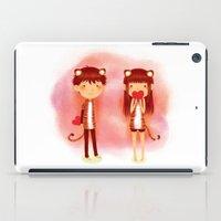 Tiger Hearts iPad Case
