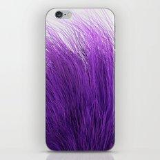 Purple Fuzz iPhone & iPod Skin