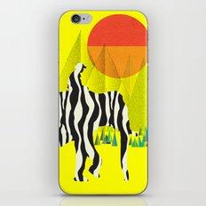 Zelephant - Mahout & Elephant iPhone & iPod Skin