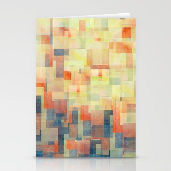 Cubism Dream (Brush Fire Remix) Stationery Card