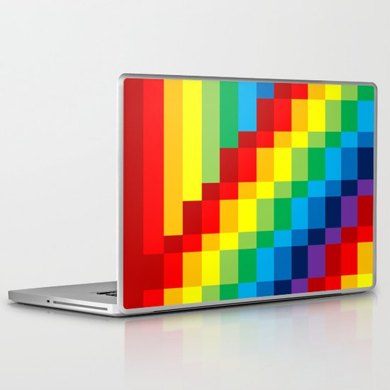 Fuzz Line #3 Laptop & iPad Skin