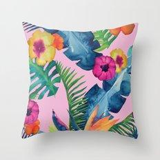 Tropic Dream Throw Pillow